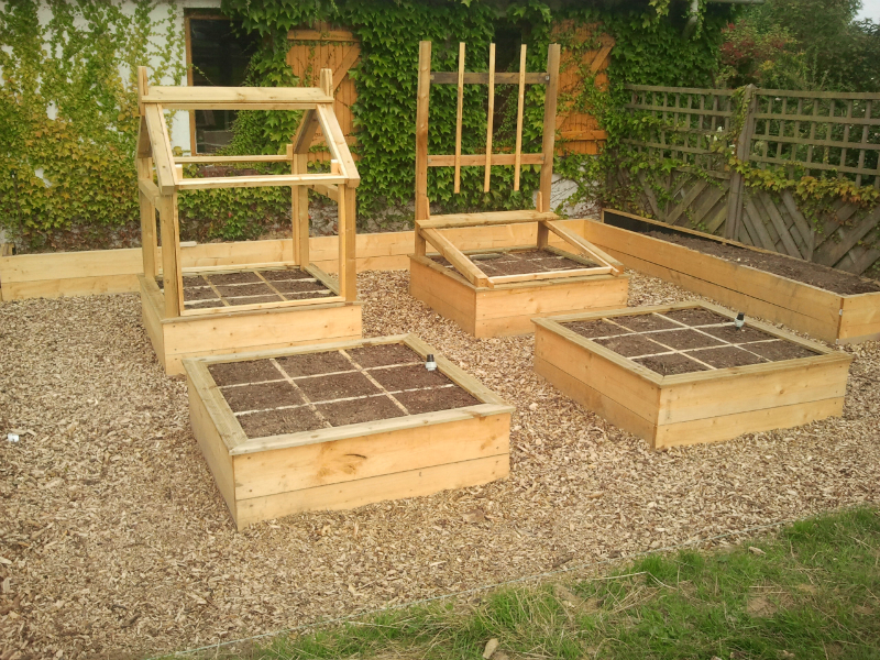 potager en carr s de a z sp ciale d butant au jardin. Black Bedroom Furniture Sets. Home Design Ideas