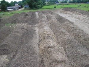 La fabrication du compost chez Biotero.