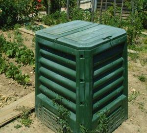 bac a compost plastique