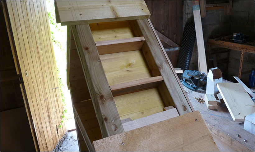 Fabriquer un h tel insectes mon potager en carr s - Maison a insectes fabrication ...