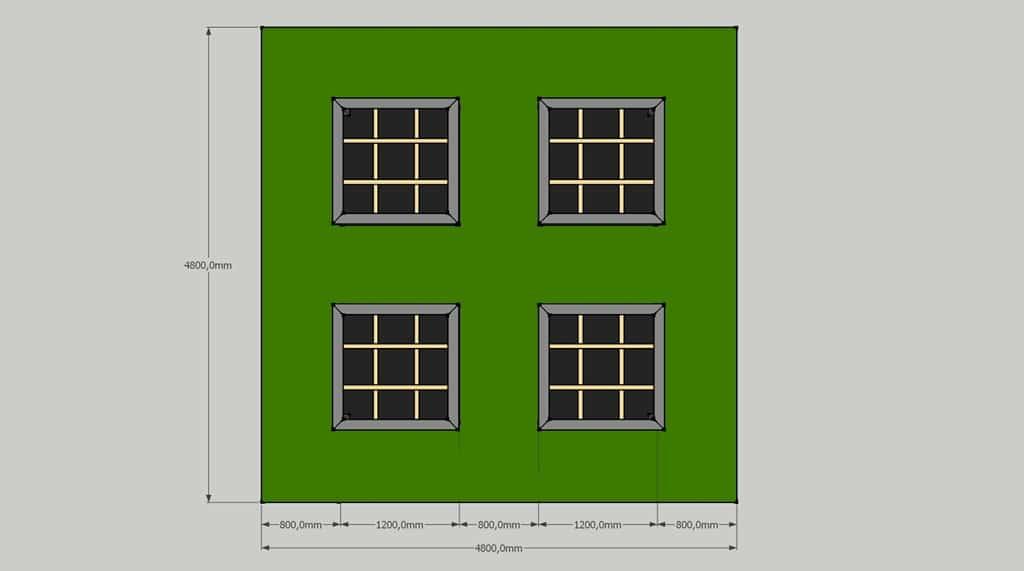 d ssiner les plans du potager en carr s. Black Bedroom Furniture Sets. Home Design Ideas