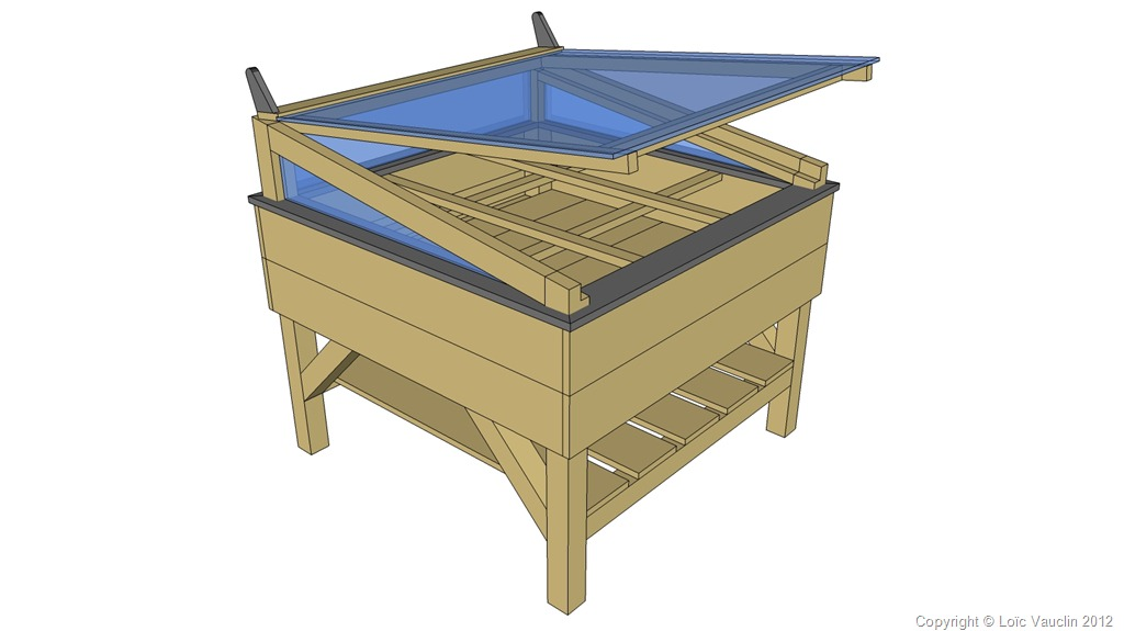 d fil 2012 des mod les de carr s de potager mon potager en carr s. Black Bedroom Furniture Sets. Home Design Ideas