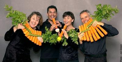 musique legumes