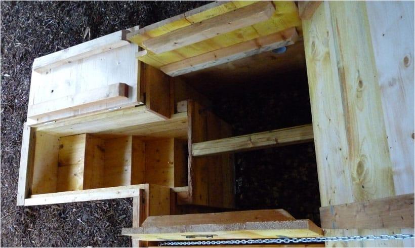 Fabriquer un silo de conservation mon potager en carr s - Construire une cave naturelle ...