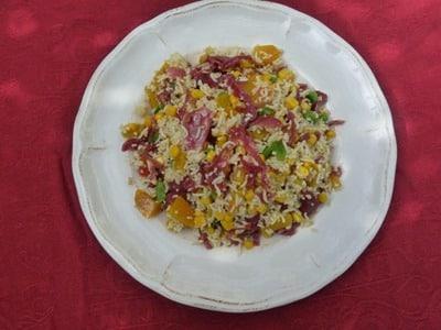 Salade aigre douce