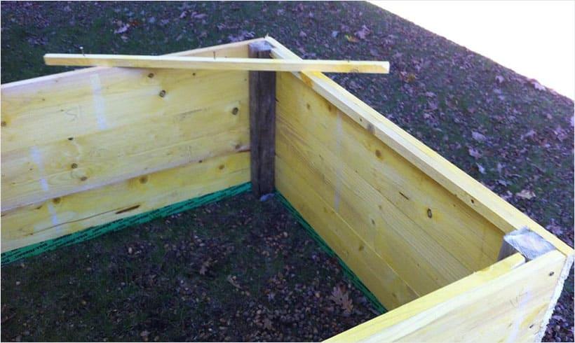 La meilleure m thode pour remplir un bac sur lev mon - Bac de jardin en bois ...