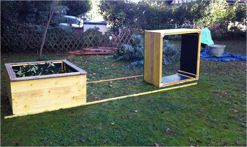 La meilleure m thode pour remplir un bac sur lev mon - Que peut on mettre dans un composteur de jardin ...
