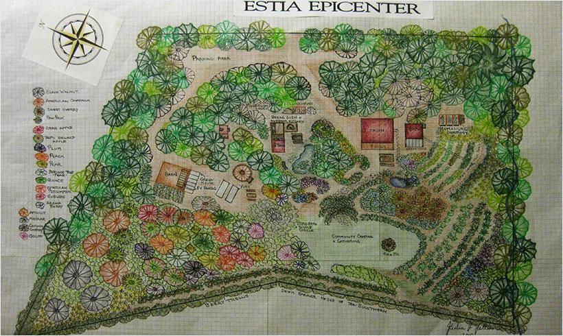 Design permaculture 1 mon potager en carr s for Potager permaculture plan