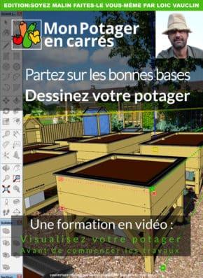 Formation en video : Dessinez votre potager