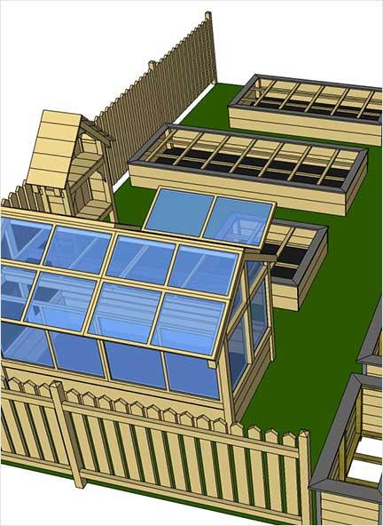 exemple de dessin du potager 1 mon potager en carr s. Black Bedroom Furniture Sets. Home Design Ideas