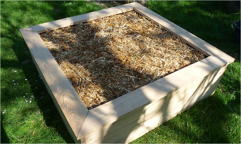 cadre pour potager en carré