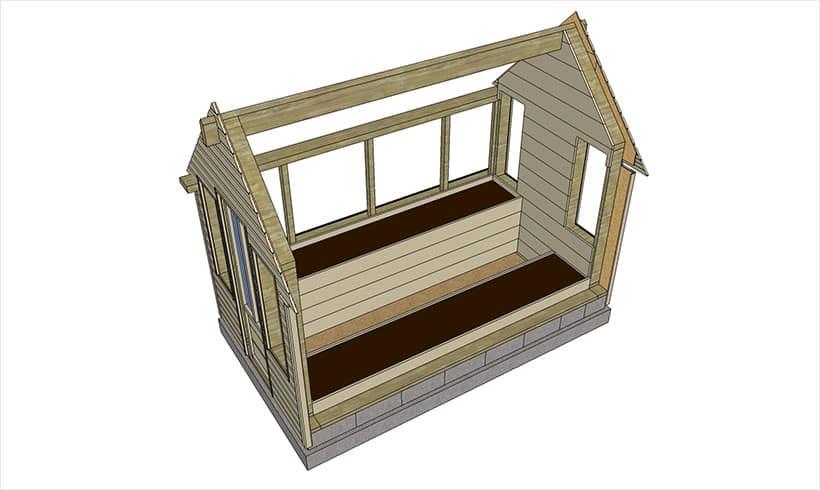 2 nouvelles conceptions de serres de jardin mon potager for Amenagement jardin carre