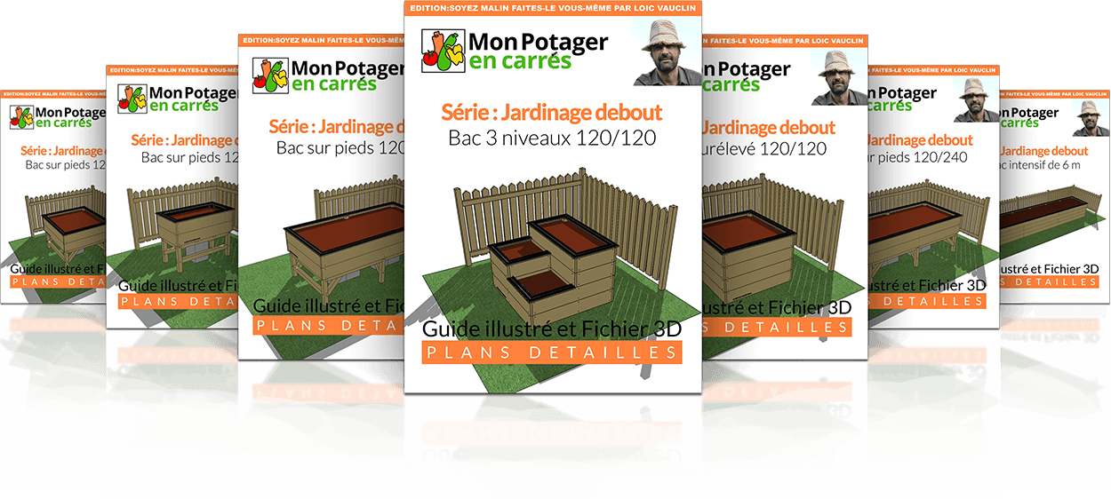 jardinage debout mon potager en carr s. Black Bedroom Furniture Sets. Home Design Ideas