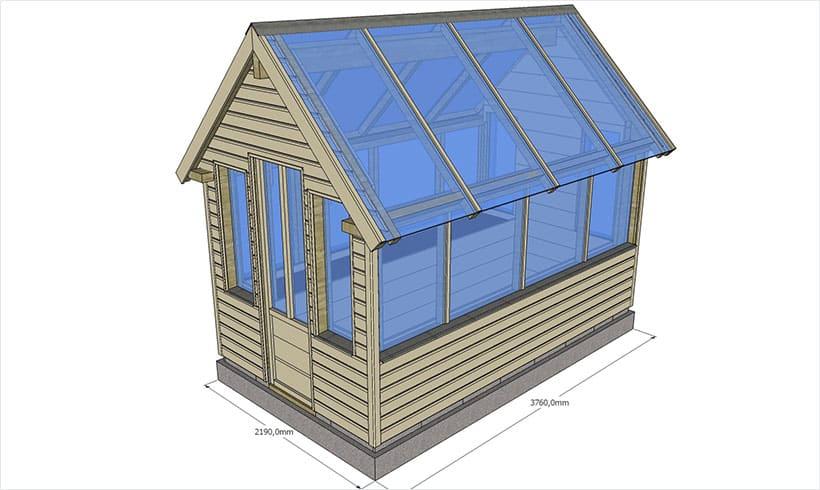 2 nouvelles conceptions de serres de jardin mon potager en carr s. Black Bedroom Furniture Sets. Home Design Ideas