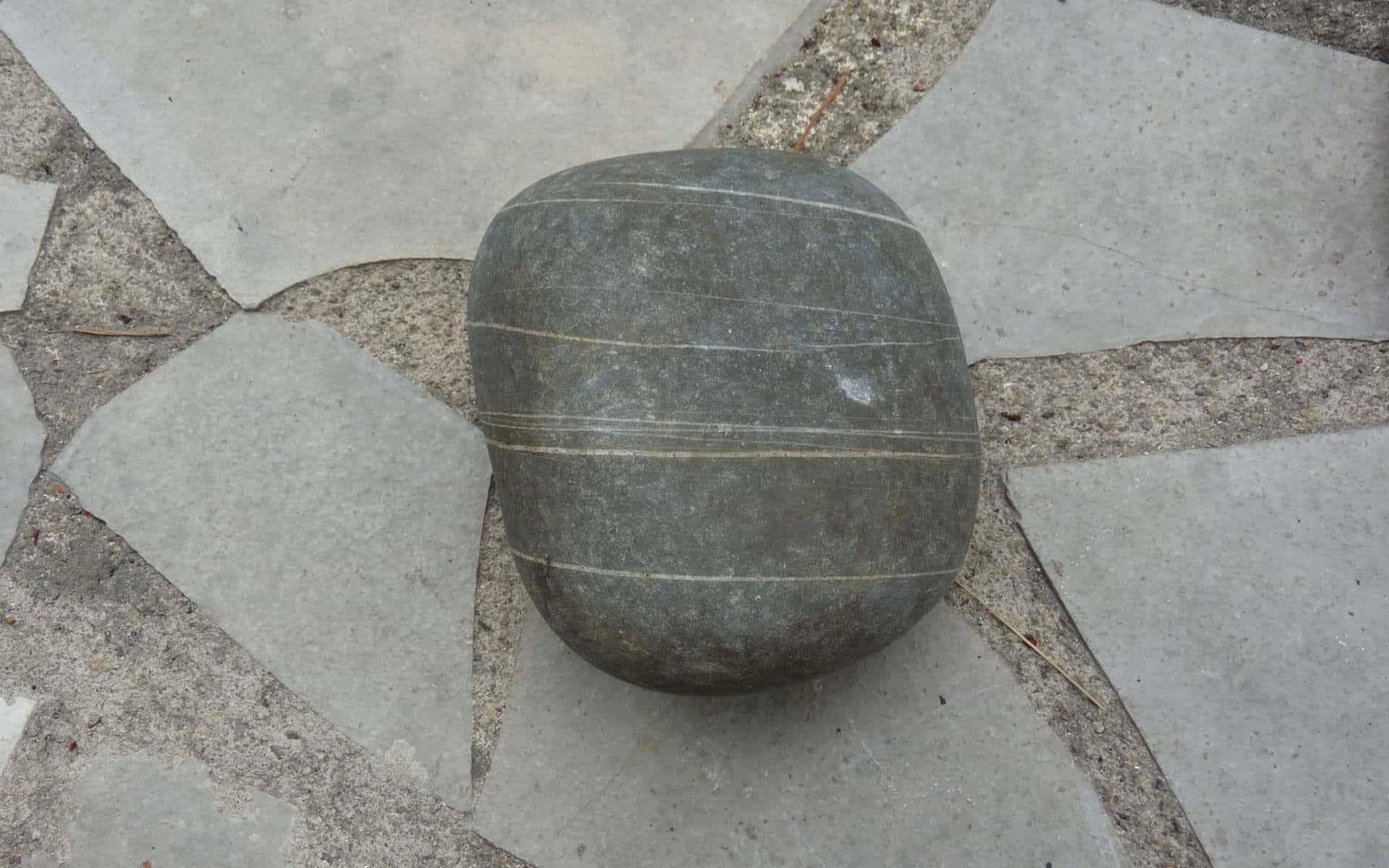 Utilisez des galets pour remplacer les pierres d'appui.